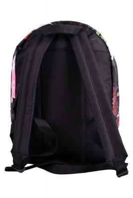 Молодежный рюкзак с цветочным принтом Floral, черный, бренд Hotsy Totsy