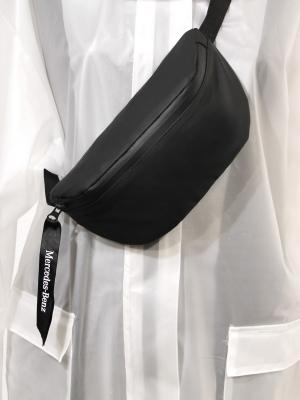 Cумка поясная Soft Touch, черная