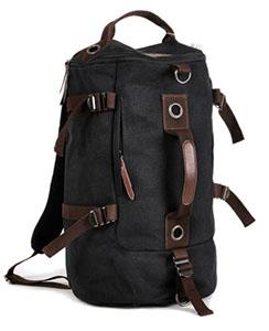 Сумка-рюкзак STALKER, черный, бренд Kansas
