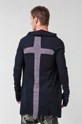 Мантия Mystic с крестом, черная