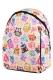 Рюкзак с совами Cute Owls белый, бренд Hotsy Totsy