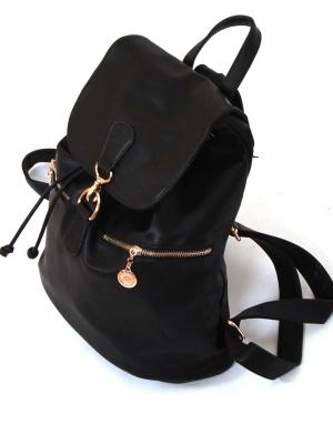 Городской рюкзак Vintage, черный