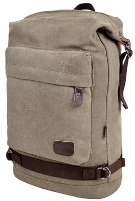 Стильный рюкзак Legend, серый, бренд Kansas
