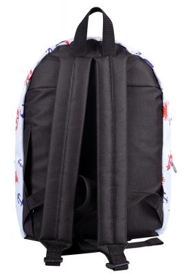 Городской рюкзак с принтами Ocean, голубой,  бренд Hotsy Totsy