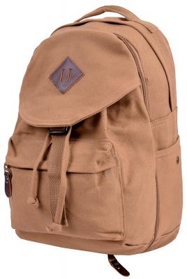 Рюкзак-трансформер, 2 в 1, Double- Bubble, коричневый, бренд Kansas
