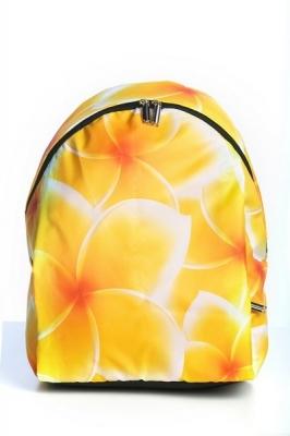 Молодежный рюкзак с цветочным принтом Floral,желтый, бренд Hotsy Totsy