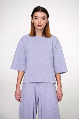 Блуза-футболка Grey Wave, серая