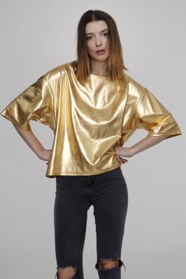 Блуза-футболка Future, золото