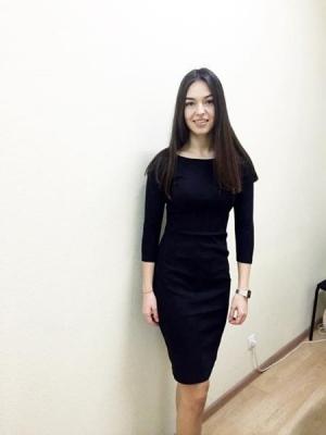 Платье Bella, черное