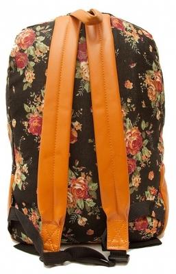 """Городской рюкзак """"Ikebana Black"""""""