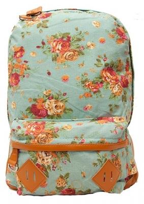 """Городской рюкзак """"Ikebana Blue"""""""