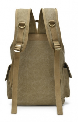 Молодежный рюкзак Unisex, бежевый, бренд Kansas