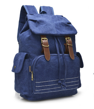 Молодежный рюкзак Unisex, синий, бренд Kansas