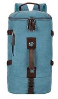 Сумка-рюкзак STALKER, синий, бренд Kansas
