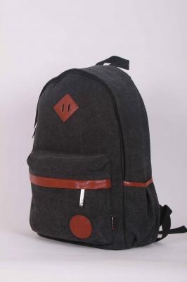Городской рюкзак Kanvas Heritage, черный, бренд Kansas