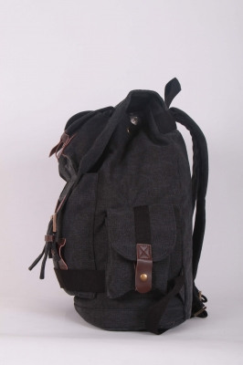Рюкзак молодежный Ginger, черный, бренд Kansas