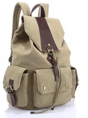 Рюкзак Sholly, песочный, бренд Kansas