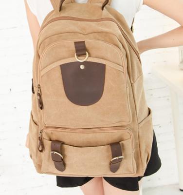 Стильный рюкзак Walker, бежевый, бренд Kansas