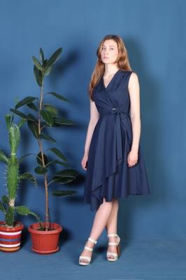 Платье Odri, цвет синий
