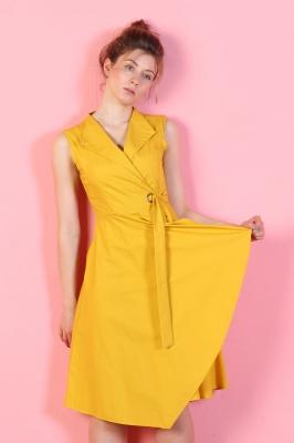 Платье Odri, цвет желтый