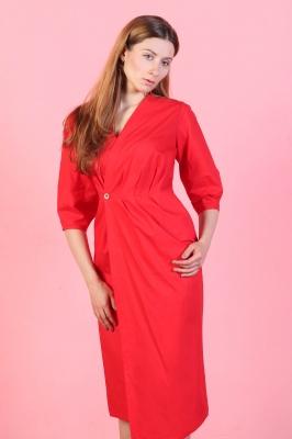 Платье Frida, красное