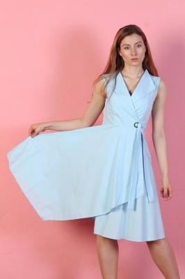 Платье Odri, цвет голубой