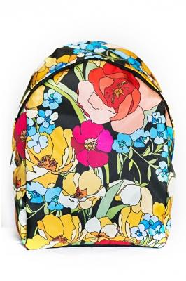 Молодежный рюкзак с цветочным принтом Floral, разноцветный, бренд Hotsy Totsy