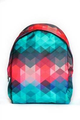 Молодежный рюкзак с принтом Pixel, разноцветный,  бренд Hotsy Totsy