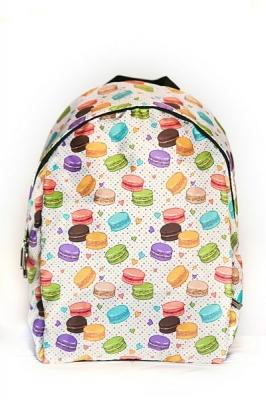 Городской рюкзак с принтом Candy, бежевый, бренд Hotsy Totsy