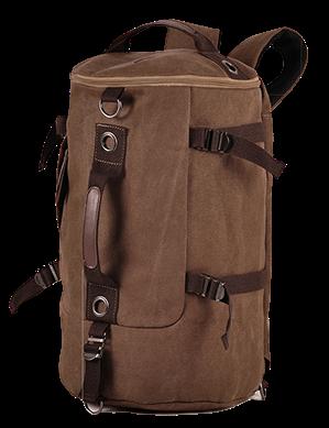 Сумка-рюкзак STALKER, коричневый, бренд Kansas