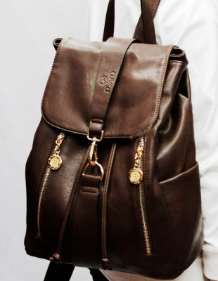 Рюкзак Pyato Sella, коричневый