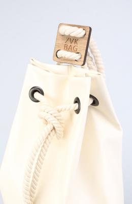 Рюкзак ZakBag, бело-золотой