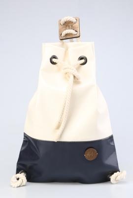 Рюкзак ZakBag, белый, синий