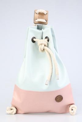 Рюкзак ZakBag, розово-голубой