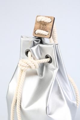 Рюкзак ZakBag, серебряный