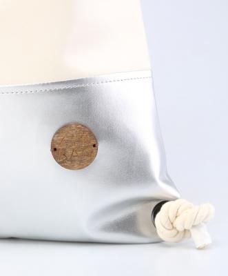Рюкзак ZakBag, серебряно-белый