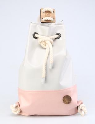 Рюкзак ZakBag, серо-голубой, розовый