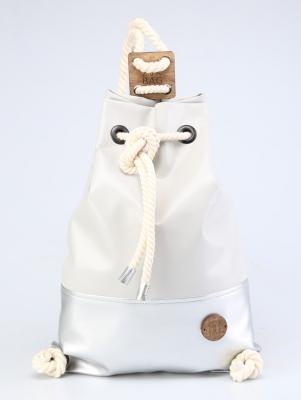 Рюкзак ZakBag, серо-голубой, серебряный