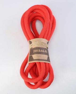 Рюкзак ZakBag, светло-бежевый с красными завязками
