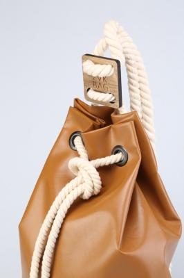 Рюкзак ZakBag, светло-коричневый, темно-коричневый