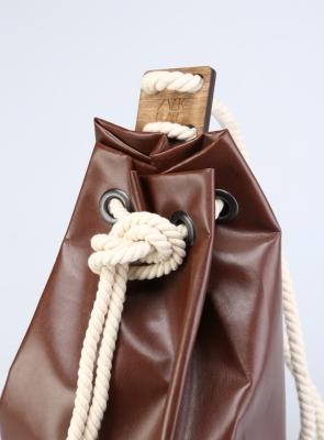 Рюкзак ZakBag, зелено-коричневый
