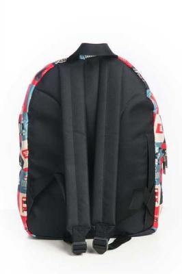 Молодежный рюкзак с принтами Peace, разноцветный, бренд Hotsy Totsy