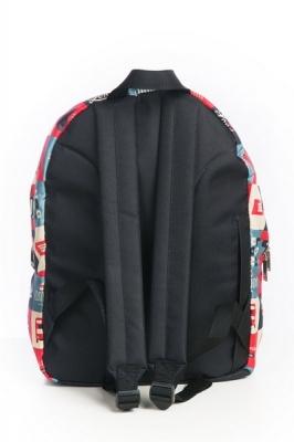 Молодежный рюкзак с цветочным принтом Floral,розовый, бренд Hotsy Totsy