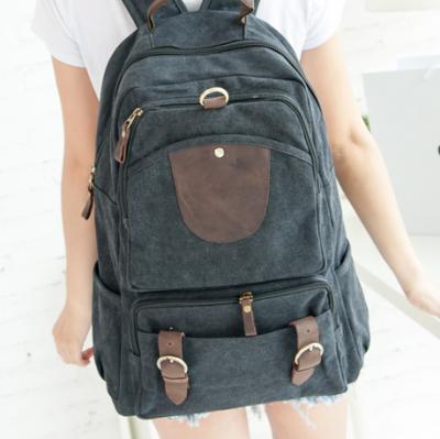 Стильный рюкзак Walker, черный, бренд Kansas