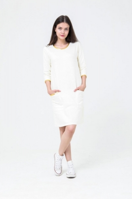 Платье Zara, белое