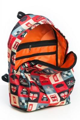 Молодежный рюкзак с совами Cute Owls белый, бренд Hotsy Totsy